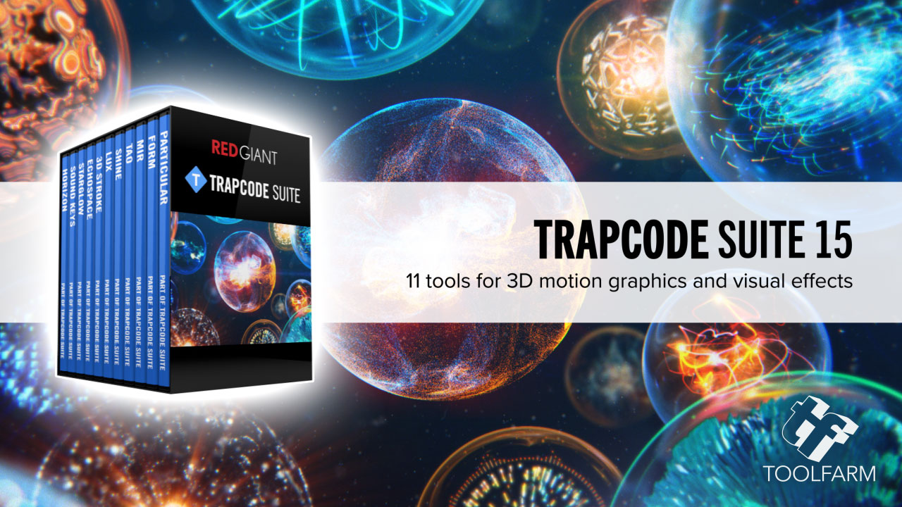 buy and comparison Red Giant Trapcode Suite 12 versions