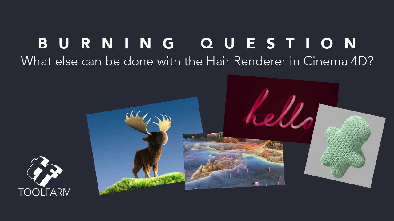 Burning Question: What can I do with the Hair Renderer in