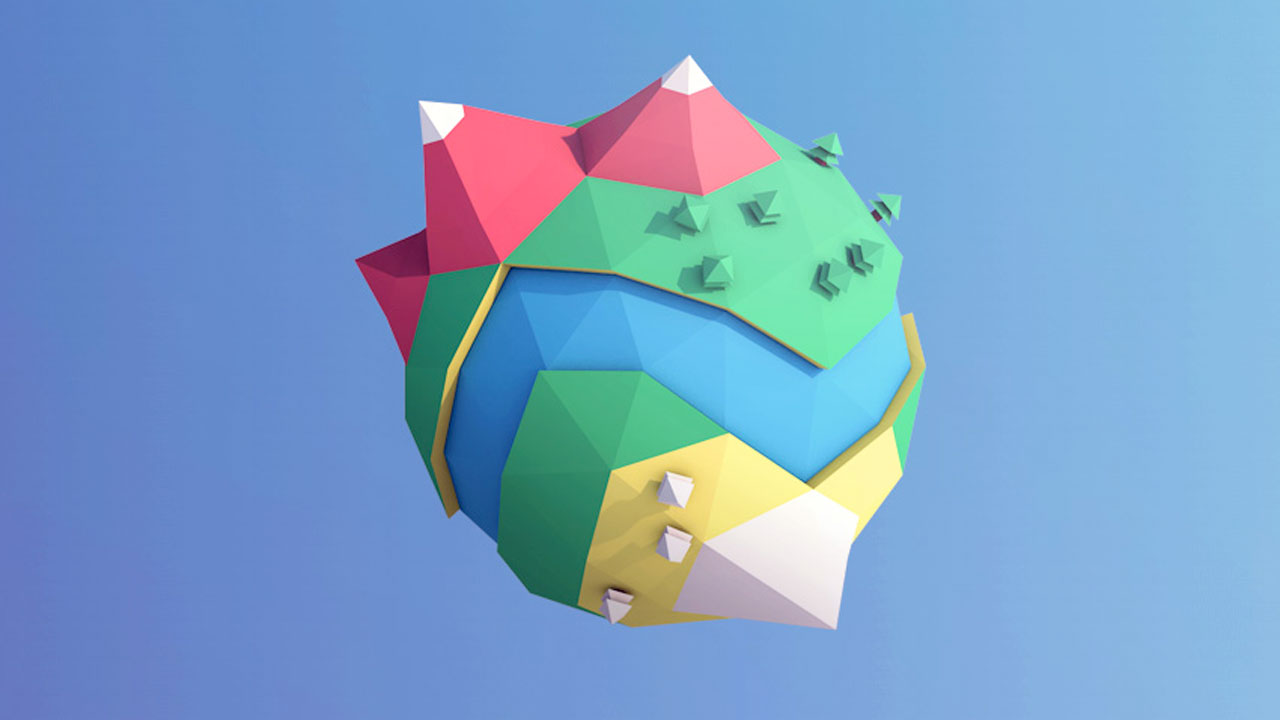 Create a Low-Poly Mini Planet in Cinema 4D - Toolfarm