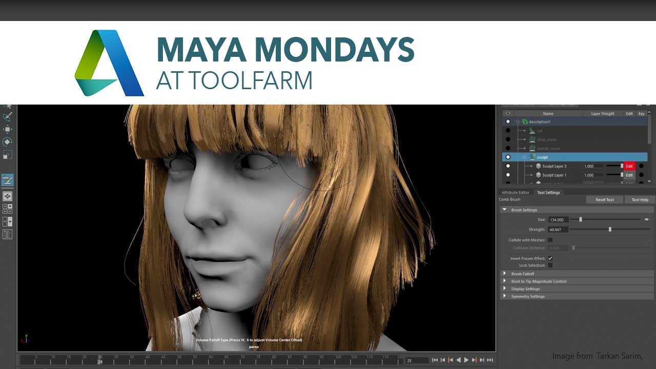 Maya XGen and Interactive Grooming Tutorial Roundup