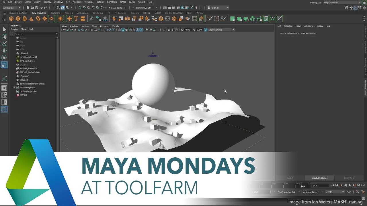 Maya Bullet Tutorial