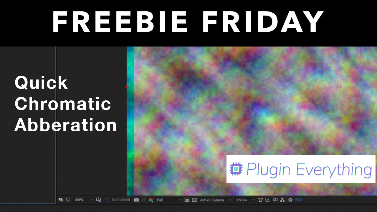 Chromatic aberration after effects plugin