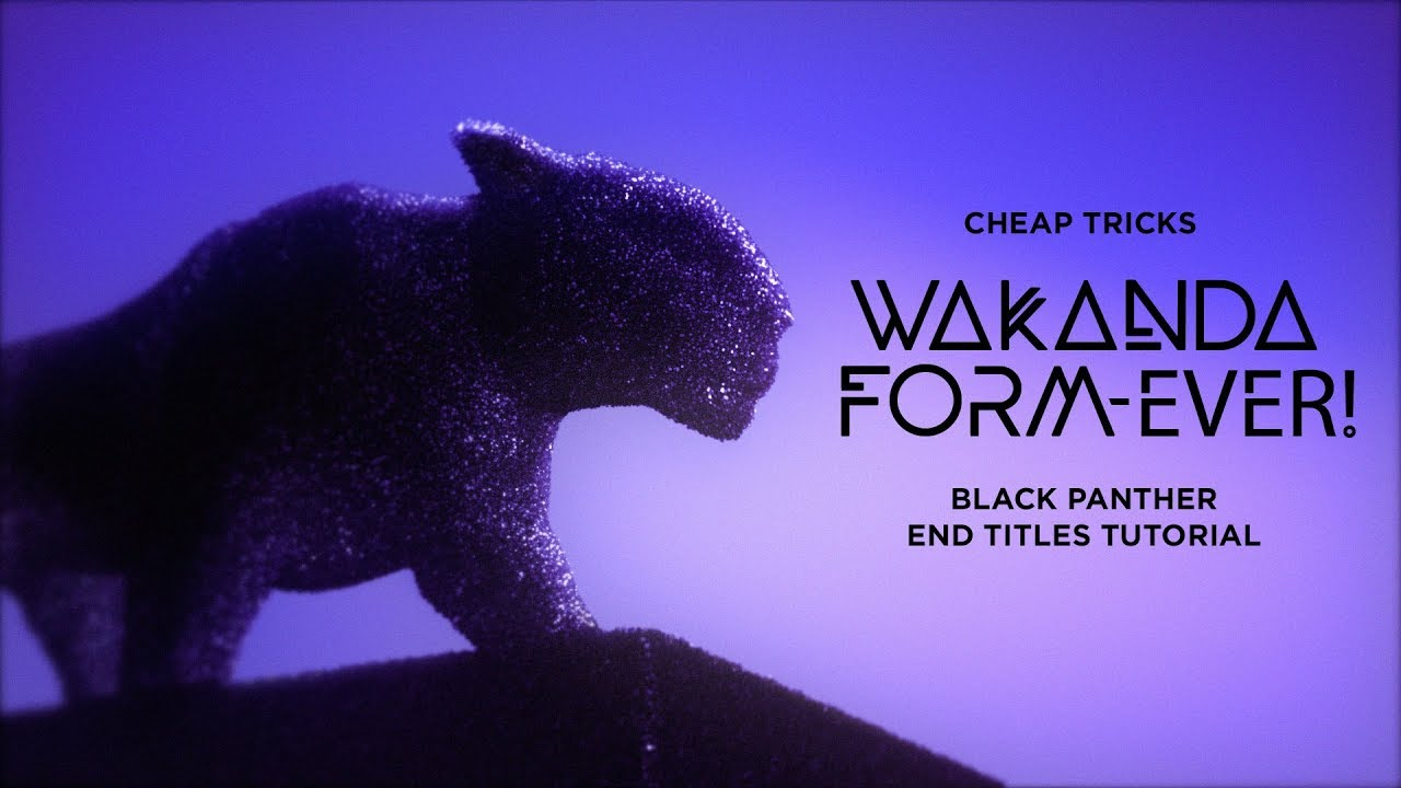 Tutorial: Wakanda Form-ever! by Action Movie Dad | Red Giant Cheap Tricks