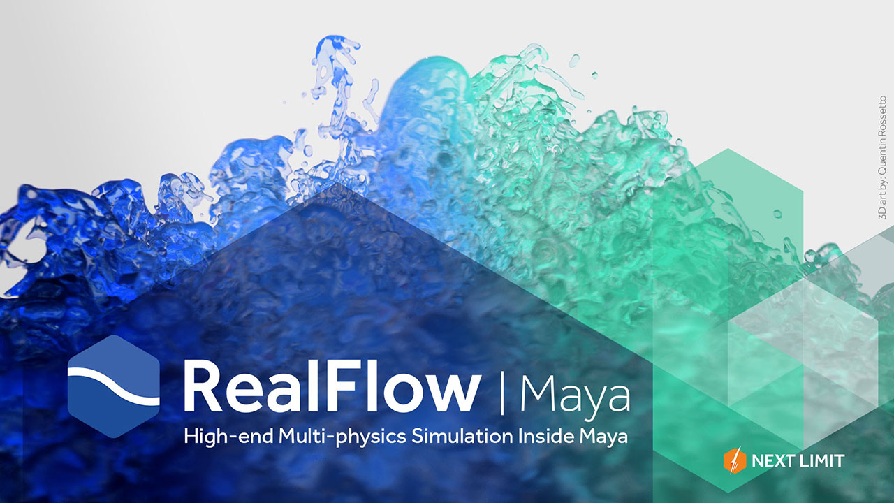 Getting Started with RealFlow | Maya Series, part 1 #gettingstarted