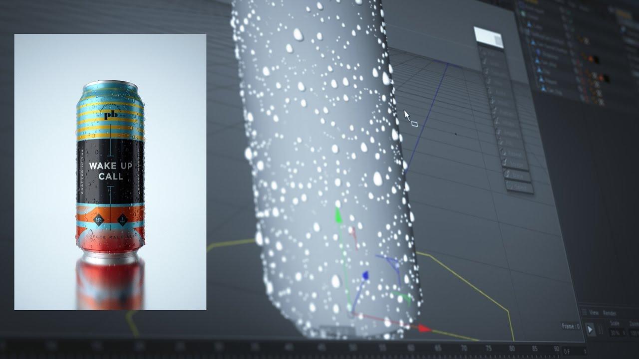 Water Condensation With Mograph, Greyscalegorilla