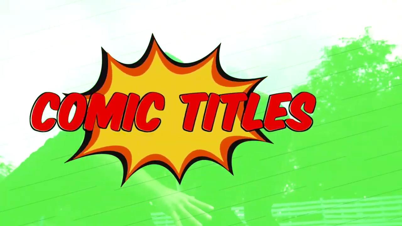 PremiumVFX Comic Titles Tutorial #gettingstarted