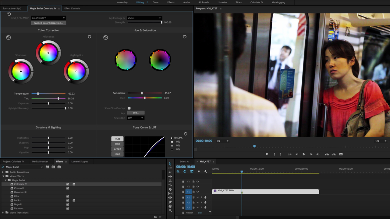 Red Giant Magic Bullet Suite: Stu Maschwitz's Color Grading Pipeline