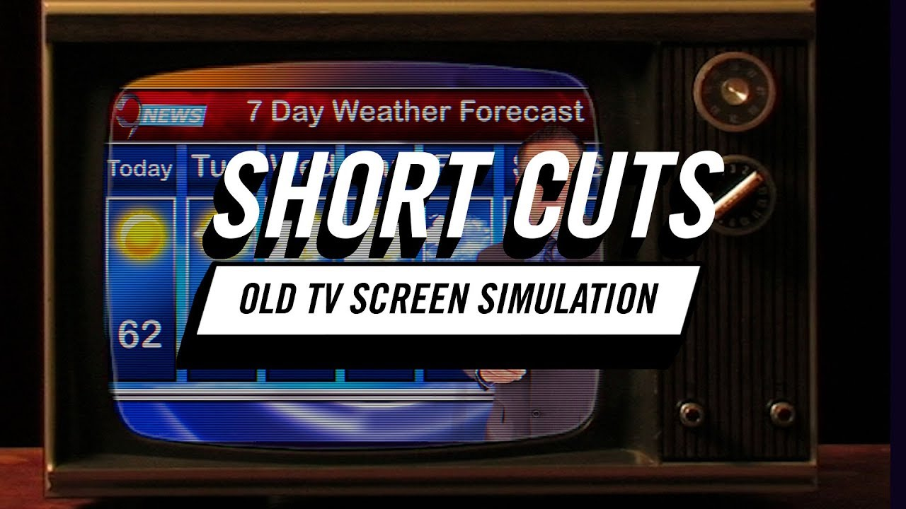 Tutorial: Short Cuts | How to Simulate Old TV Screens in Premiere Pro CC