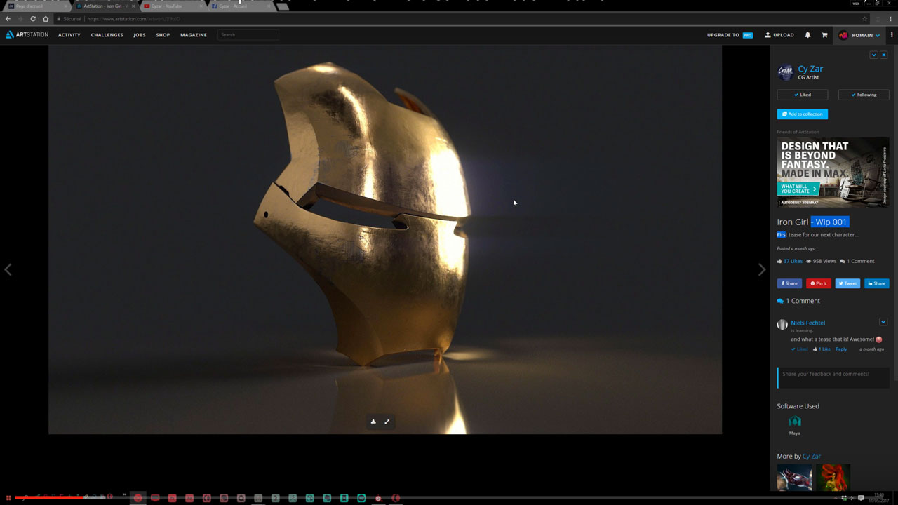 Substance Painter to Arnold Workflow