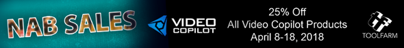 video copilot nab sale 2018